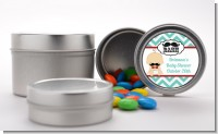 Little Man Mustache - Custom Baby Shower Favor Tins