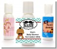 Little Man Mustache - Personalized Baby Shower Lotion Favors thumbnail