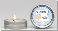 Little Doctor On The Way - Baby Shower Candle Favors