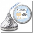 Little Doctor On The Way - Hershey Kiss Baby Shower Sticker Labels thumbnail
