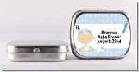 Little Doctor On The Way - Personalized Baby Shower Mint Tins