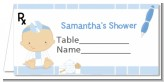 Little Doctor On The Way - Personalized Baby Shower Place Cards