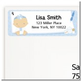 Little Doctor On The Way - Baby Shower Return Address Labels