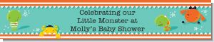 Little Monster - Personalized Baby Shower Banners