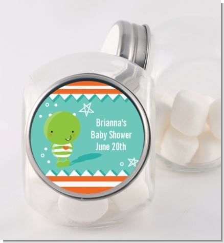 Little Monster - Personalized Baby Shower Candy Jar