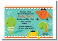 Little Monster - Birthday Party Petite Invitations thumbnail