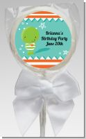 Little Monster - Personalized Birthday Party Lollipop Favors