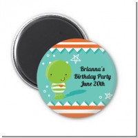 Little Monster - Personalized Baby Shower Magnet Favors