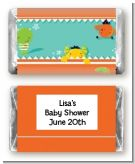 Little Monster - Personalized Baby Shower Mini Candy Bar Wrappers