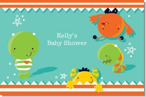 Little Monster - Personalized Baby Shower Placemats