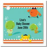 Little Monster - Personalized Baby Shower Card Stock Favor Tags