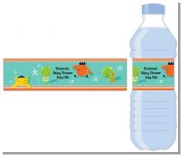 Little Monster - Personalized Baby Shower Water Bottle Labels