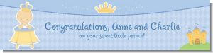 Little Prince - Personalized Baby Shower Banners