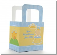 Little Prince - Personalized Baby Shower Favor Boxes