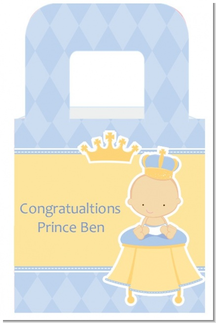 little prince baby shower goodle bags candles favors