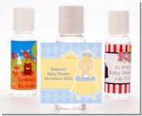Little Prince - Personalized Baby Shower Hand Sanitizers Favors