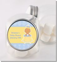 Little Prince Hispanic - Personalized Baby Shower Candy Jar