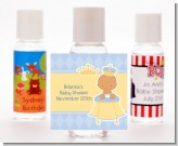 Little Prince Hispanic - Personalized Baby Shower Hand Sanitizers Favors