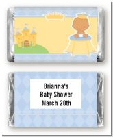 Little Prince Hispanic - Personalized Baby Shower Mini Candy Bar Wrappers