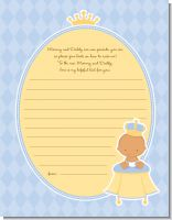 Little Prince Hispanic - Baby Shower Notes of Advice