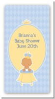 Little Prince Hispanic - Custom Rectangle Baby Shower Sticker/Labels