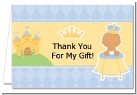 Little Prince Hispanic - Baby Shower Thank You Cards