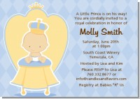 Little Prince - Baby Shower Invitations