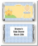 Little Prince - Personalized Baby Shower Mini Candy Bar Wrappers