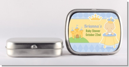 Little Prince - Personalized Baby Shower Mint Tins