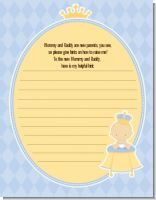 Little Prince - Baby Shower Notes of Advice
