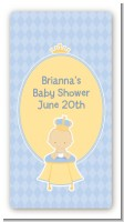 Little Prince - Custom Rectangle Baby Shower Sticker/Labels