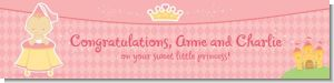 Little Princess - Personalized Baby Shower Banners