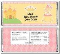 Little Princess - Personalized Baby Shower Candy Bar Wrappers
