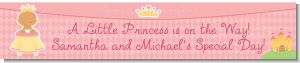 Little Princess Hispanic - Personalized Baby Shower Banners