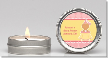 Little Princess Hispanic - Baby Shower Candle Favors