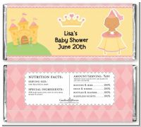 Little Princess Hispanic - Personalized Baby Shower Candy Bar Wrappers