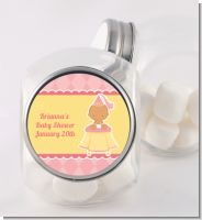 Little Princess Hispanic - Personalized Baby Shower Candy Jar