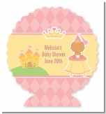 Little Princess Hispanic - Personalized Baby Shower Centerpiece Stand