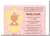 Little Princess Hispanic - Baby Shower Petite Invitations
