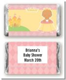 Little Princess Hispanic - Personalized Baby Shower Mini Candy Bar Wrappers