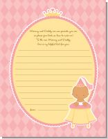 Little Princess Hispanic - Baby Shower Notes of Advice