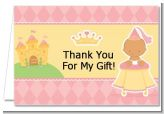 Little Princess Hispanic - Baby Shower Thank You Cards