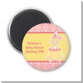Little Princess - Personalized Baby Shower Magnet Favors