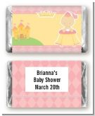 Little Princess - Personalized Baby Shower Mini Candy Bar Wrappers