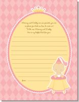 Little Princess - Baby Shower Notes of Advice