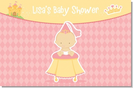 Little Princess - Personalized Baby Shower Placemats