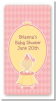 Little Princess - Custom Rectangle Baby Shower Sticker/Labels
