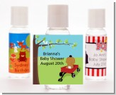 Little Red Wagon - Personalized Baby Shower Hand Sanitizers Favors