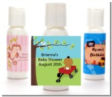 Little Red Wagon - Personalized Baby Shower Lotion Favors