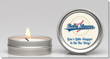 Little Slugger Baseball - Baby Shower Candle Favors